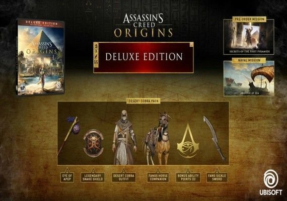 Assassin's Creed: Origins - Deluxe Edition UK