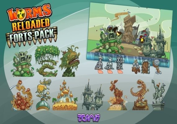Worms Reloaded - Forts Pack EU