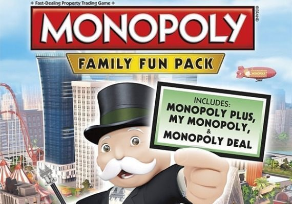 Monopoly - Family Fun Pack ARG