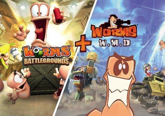 Worms: Battlegrounds + Worms W.M.D ARG