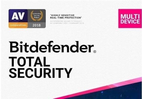 Bitdefender Total Security 2 Years 10 Dev