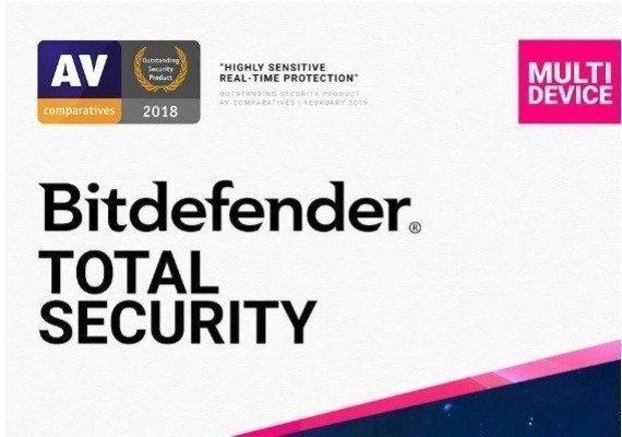 Bitdefender Total Security 1 Year 10 Dev
