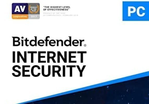 Bitdefender Internet Security 1 Year 3 Device