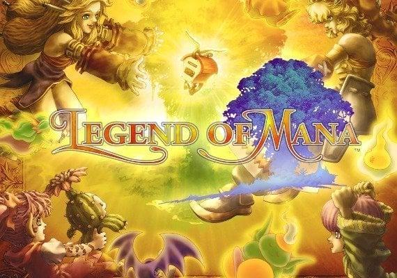 Legend of Mana - Remastered EU PS4