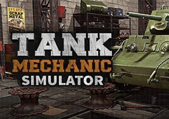 Tank Mechanic Simulator EU PS4