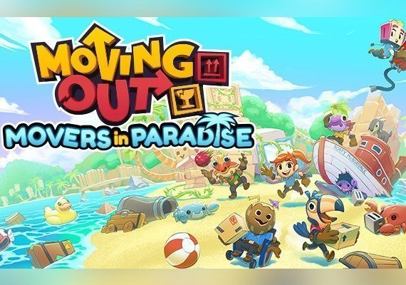 Moving Out: Movers in Paradise EU PS4