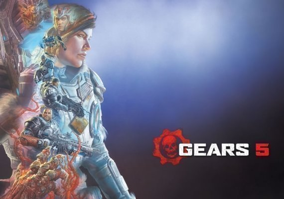 Gears 5 - Exclusive Cog Air Lancer Weapon Skin