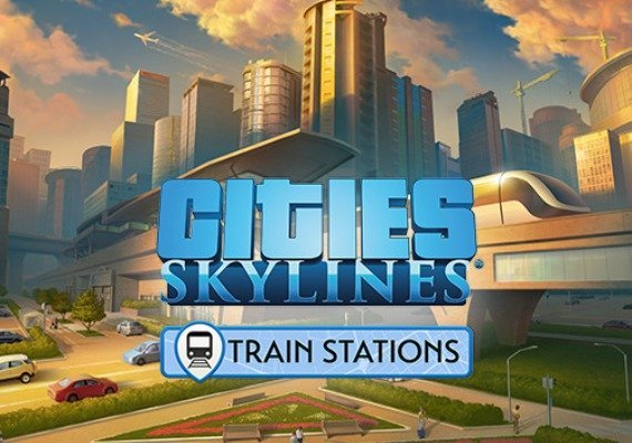 Cities: Skylines - Content Creator Pack: Train Stations EU