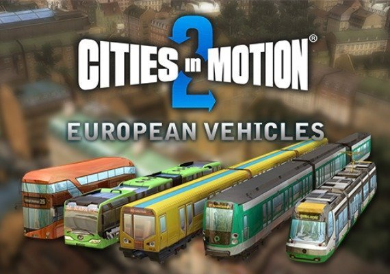Cities in Motion 2 - European Vehicle Pack