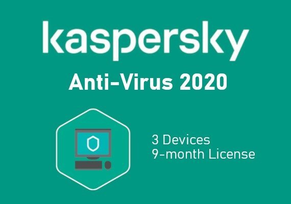 Kaspersky Antivirus 2020 9 Months 3 Dev