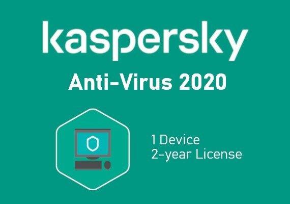 Kaspersky Antivirus 2020 2 Years 1 Dev EU