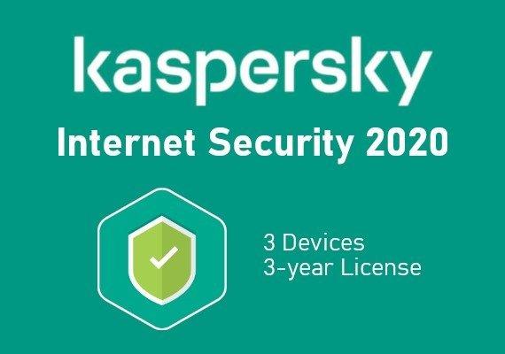 Kaspersky Internet Security 2020 3 Years 3 Dev