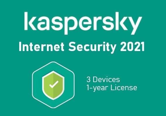Kaspersky Internet Security 2021 1 Year 3 Devices EU Voucher Code
