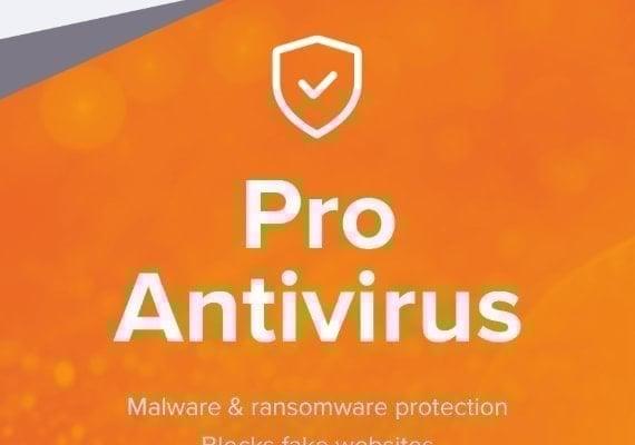Avast Antivirus Pro 1 Year 5 Dev