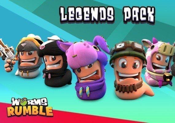 Worms Rumble - Legends Pack EU