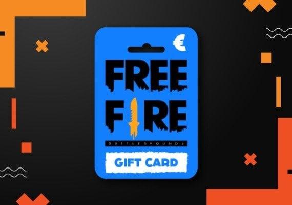 Garena Free Fire Gift Card 210 + 21 Diamonds Pins