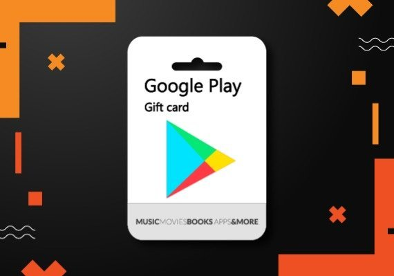 Google Play Gift Card 50 GBP