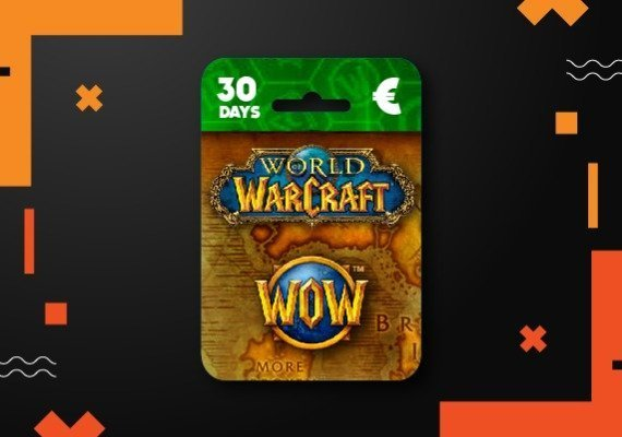 WoW World of Warcraft 30 day time card US