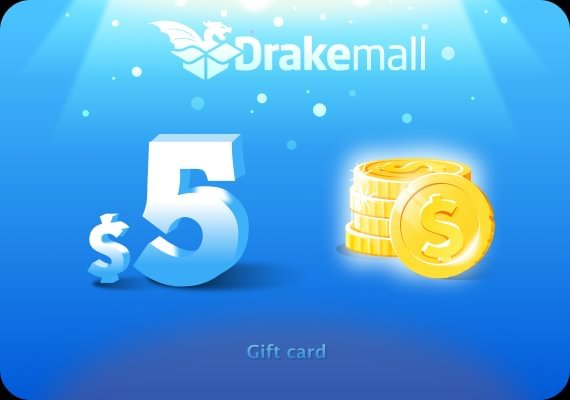 Drakemall Gift Card 5 USD
