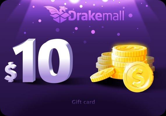 Drakemall Gift Card 10 USD