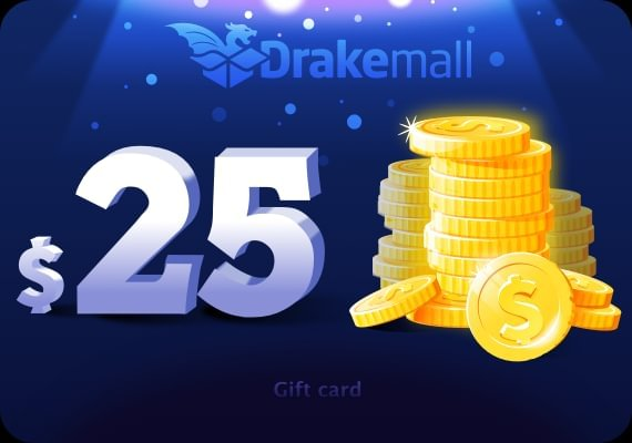 Drakemall Gift Card 25 USD