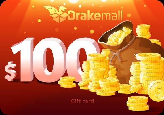 Drakemall Gift Card 100 USD