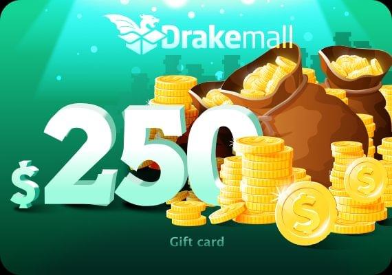 Drakemall Gift Card 250 USD