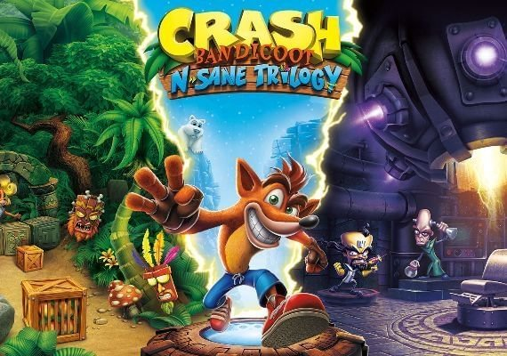 Crash Bandicoot N. Sane Trilogy US