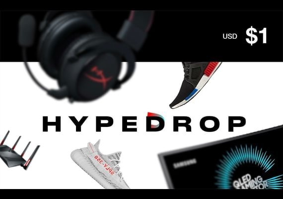 HypeDrop Gift Card 1 USD