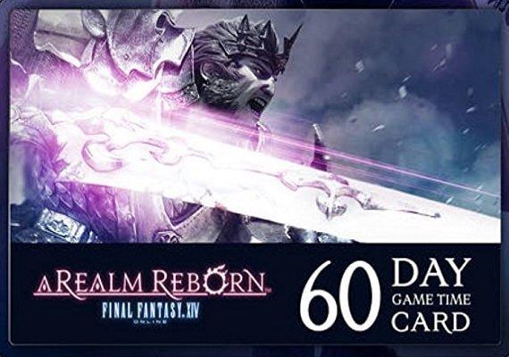 Final Fantasy XIV: A Realm Reborn 60 days US