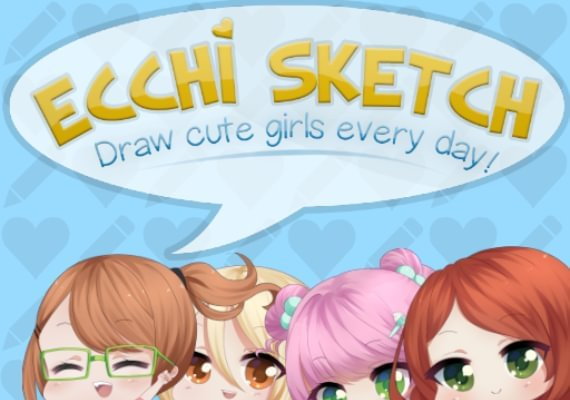 Ecchi Sketch: Draw Cute Girls Every Day!
