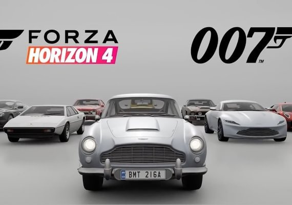 Forza Horizon 4 - Best of Bond Car Pack US
