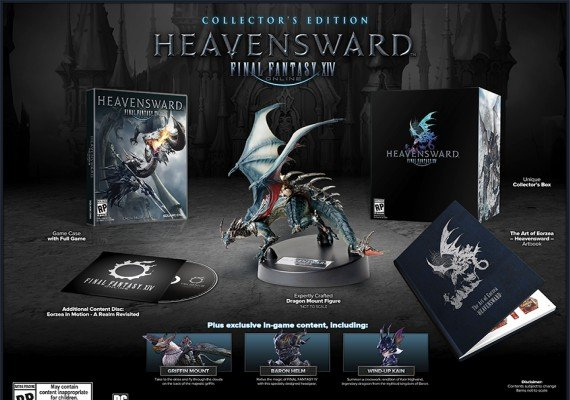 Final Fantasy XIV: A Realm Reborn + Heavensward - Collector's Edition