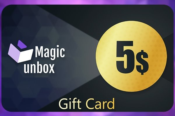 MagicUnbox Gift Card 5 USD