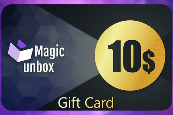 MagicUnbox Gift Card 10 USD
