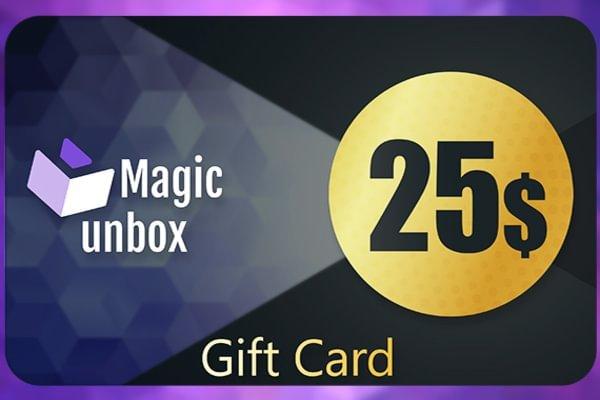 MagicUnbox Gift Card 25 USD