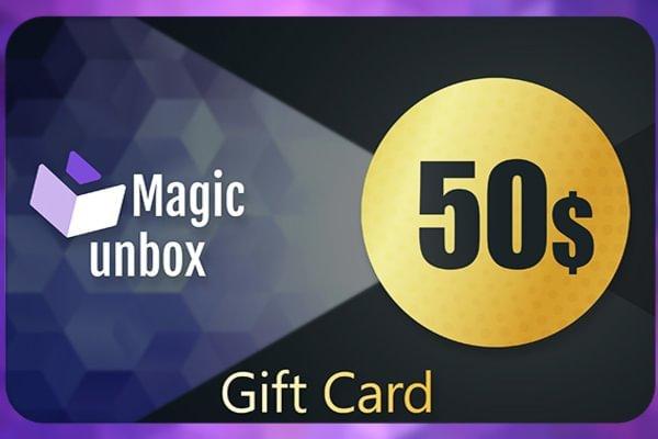 MagicUnbox Gift Card 50 USD