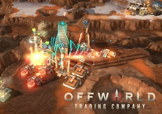 Offworld Trading Company + Jupiter's Forge Expansion Pack DLC