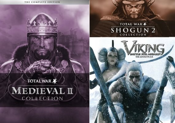 Medieval II: Total War Collection + Shogun: Total War Collection + Viking: Battle for Asgard