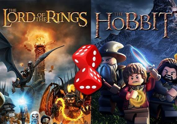 LEGO Random game - Lord of The Rings or Hobbit