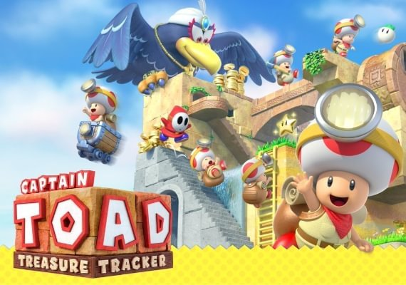 Captain Toad: Treasure Tracker US Switch