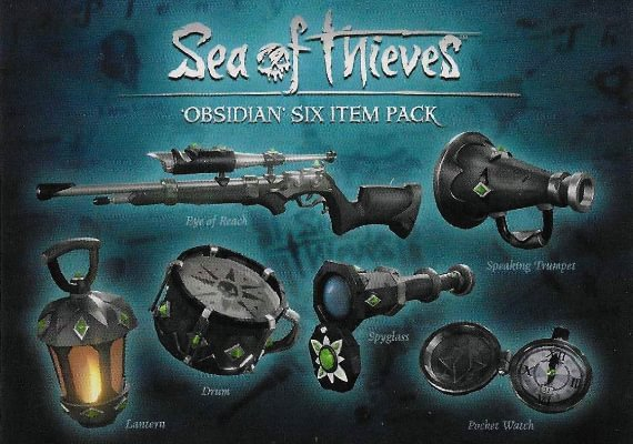 Sea Of Thieves - Obsidian Six Item Pack