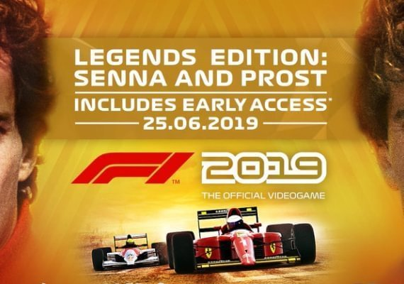 F1 2019 - Legends Edition PRE-ORDER