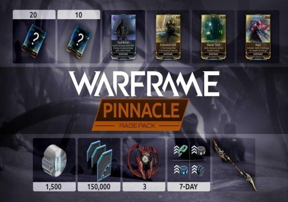 Warframe - Rage Pinnacle Pack