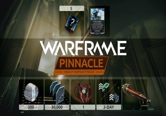 Warframe - Heavy Impact Pinnacle Pack