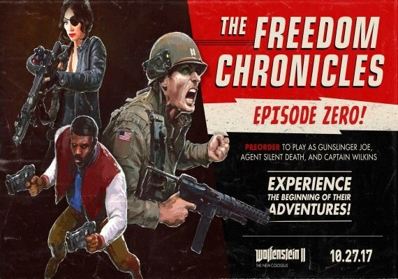 Wolfenstein II: The New Colossus - The Freedom Chronicles: Episode Zero EMEA