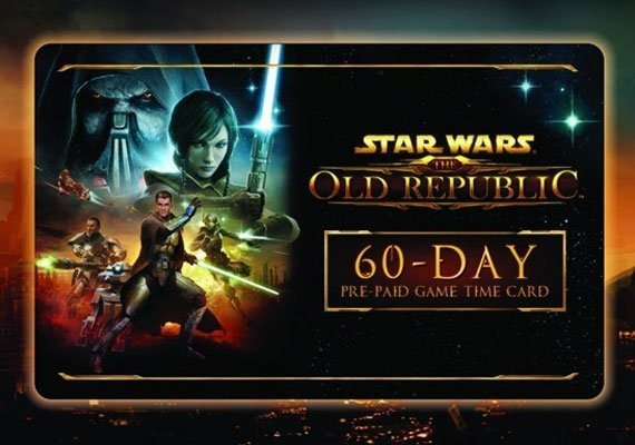 Star Wars: The Old Republic 60 days time card