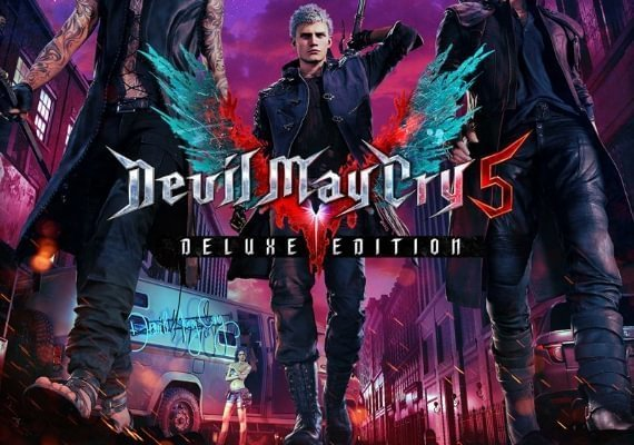 Devil May Cry 5 - Deluxe Edition Upgrade (Playstation 4)