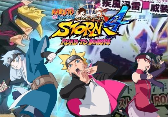 Naruto Shippuden: Ultimate Ninja Storm 4 Road to Boruto Bundle