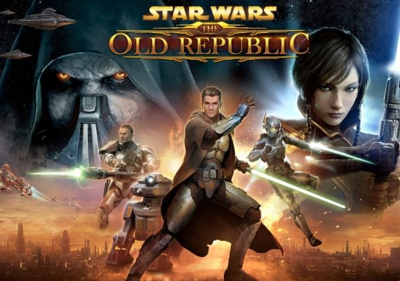 Star Wars: The Old Republic 180 Days Time Card